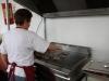 stand des Eleveurs Girondins : préparation avant le service