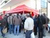 animation de la boucherie de Mérignac février 2013