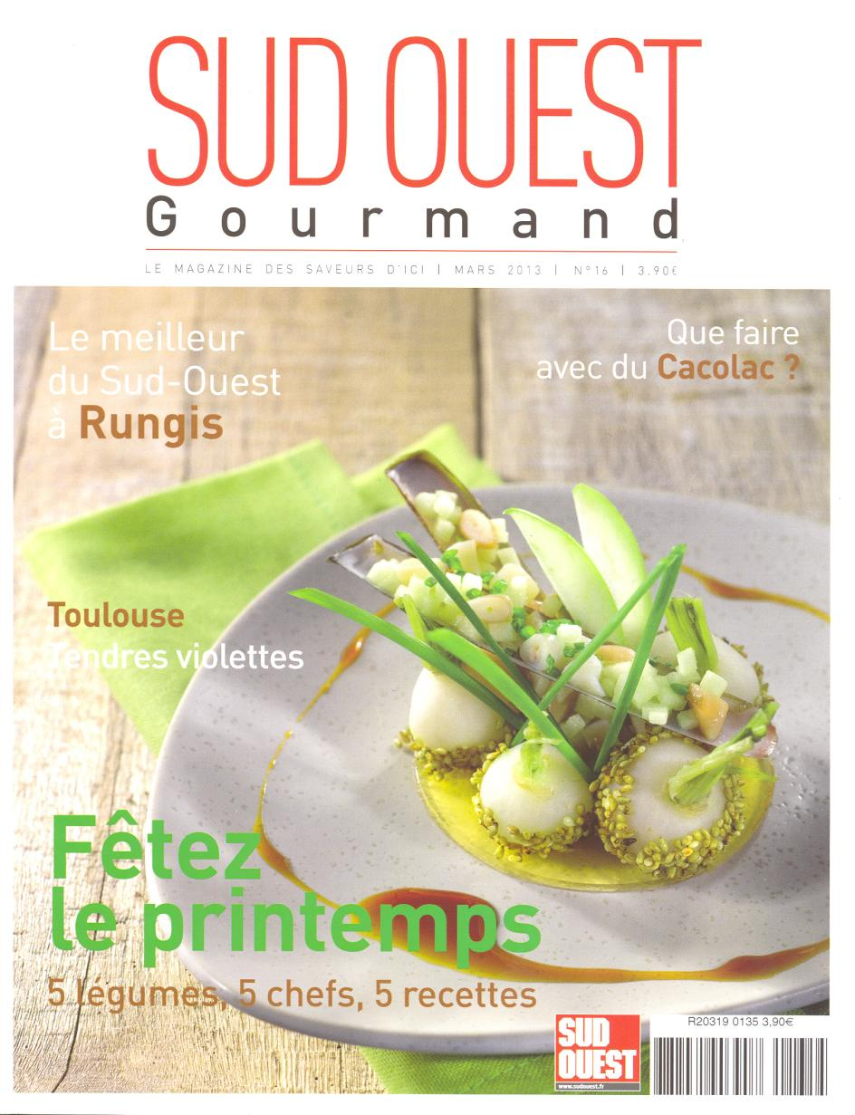 entree-jardin-sud-ouest-gourmand-mars-2013-couverture