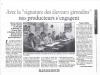 Signature Aquitaine - 5 décembre 1997