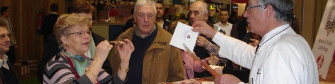 Journal Sud-Ouest « L'Agneau Conquérant » – Claude DUBEDAT au Salon International de l'Agriculture à Paris