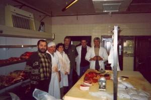 évrier 2002 Ouverture de la 1ère boucherie des Eleveurs Girondins « la Boucherie de l'Entre Deux Mers à Daignac »