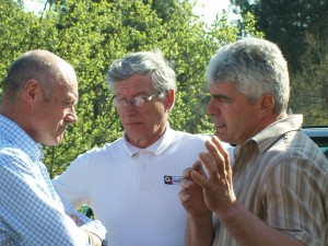 Alain ROUSSET, Serge CHIAPPA, Claude DUBEDAT « Discussion autour d'un projet d'abattoir… »