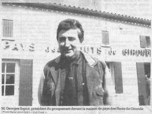 Georges SUPIOT le 22 mars 1989 « Un appel à capital social, non pour boucher un trou, mais pour bâtir l'avenir… »