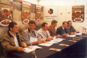 8 novembre 1997 au Bon Goût d' Aquitaine, lancement de la viande de Bœuf sous « Signature des Eleveurs Girondins »