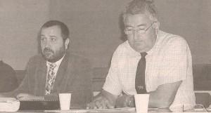 12 juillet 2002, Georges SUPIOT-Philippe NOMPEIX « C'est l'aboutissement d'une démarche collective fédérant les trois races bovines du département… »