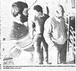Le GEG reconnu par les siens Janvier 1985
