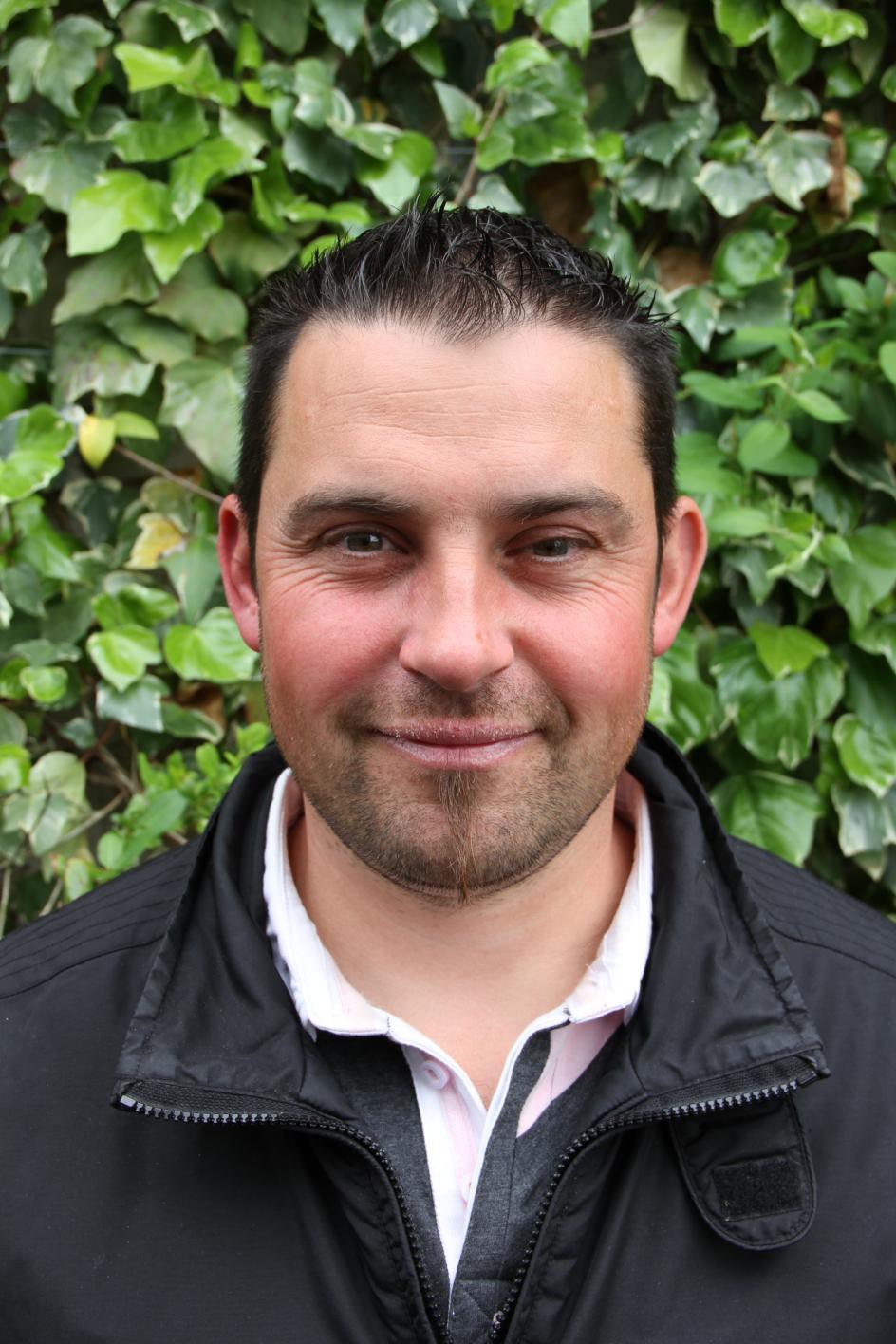 Jérôme MARTIN co-adjoint de la boucherie du Sud Gironde àToulenne