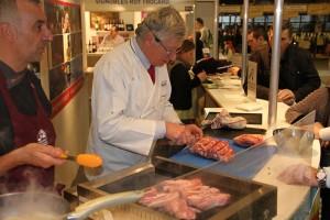 La cuisson des côtes d'agneau