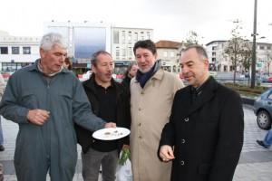 animation de la boucherie de Mérignac pour Pâques 2013