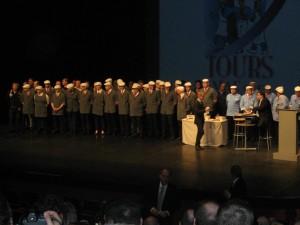 photo de groupe des meilleurs apprentis bouchers de France