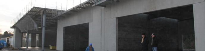 Les boutiques du Médoc en travaux le 18 décembre 2013