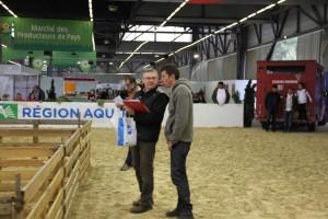 le concours de l'agneau de Pauillac - foire de Bordeaux 2015