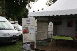 stand de l'agneau de Pauillac à Tech-ovin 2015